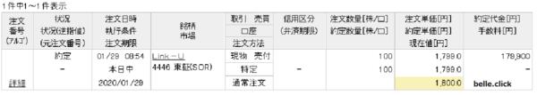 Link-U売却